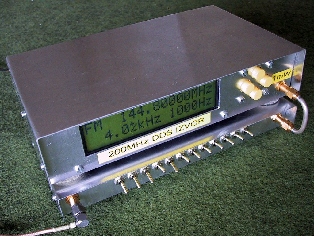 S53mv Dds Rf Signal Generator Component Circuit The Function Composed Ddsatt1