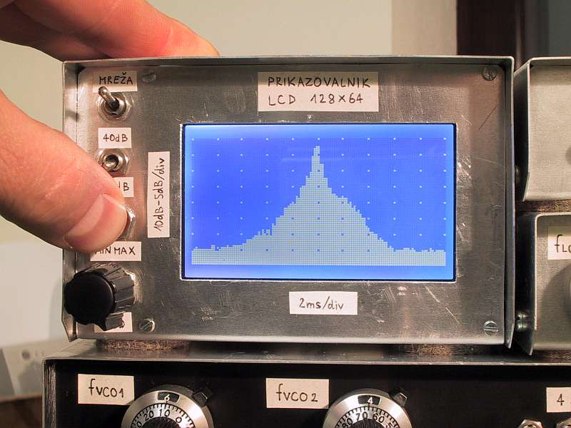 LCD Oscilloscope for Spectrum Analyzers