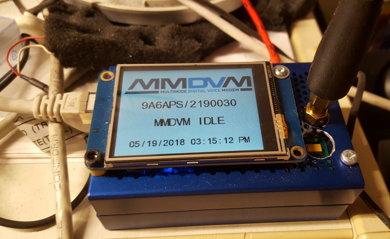 MMDVM HotSpot hat for RPi type B by Aleksander Stare S56AL